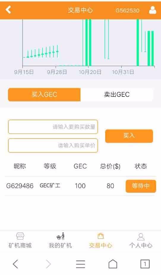 GEC云矿机 云矿机源码 虚拟货币(区块链)挖矿源码 云矿机,虚拟币挖矿