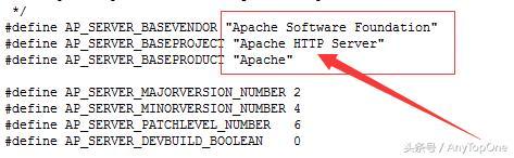 Apache服务彻底假装成IIS 6.0,使服务器更加安全