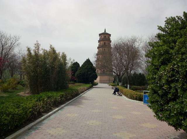 宝塔公园有宝塔,平凉人民都来看宝塔