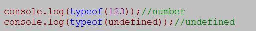 js的typeof使用法