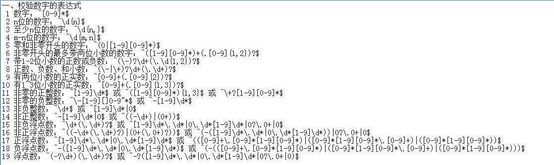 js的正则表达式使用法