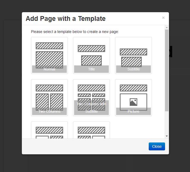 HTML5幻灯演示系统推荐:H5Slides