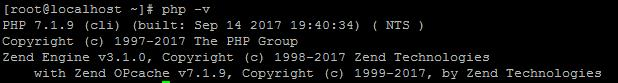 CentOS 7安装新版本的PHP(PHP71W)