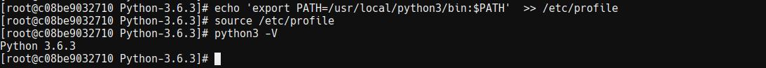 Centos-安装最新的Python3.6.3