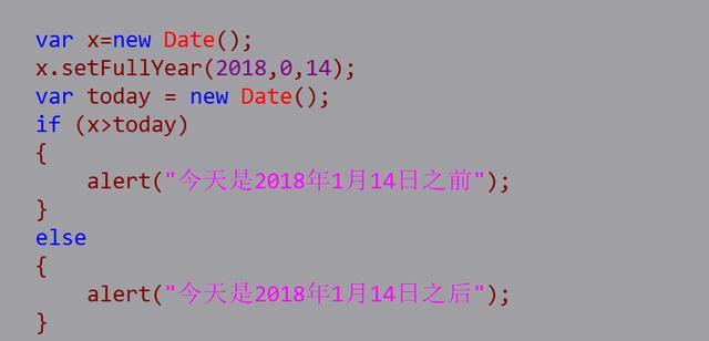 JS的Date对象