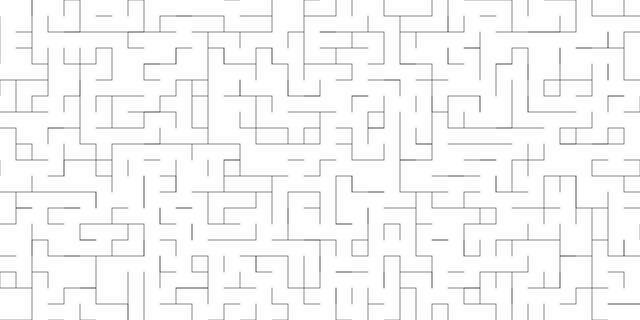 利使用纯JS和HTML Canvas生成随机迷宫过程中产生的有趣的事情