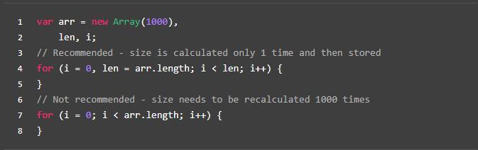前台开发规范(六、JS优化篇)