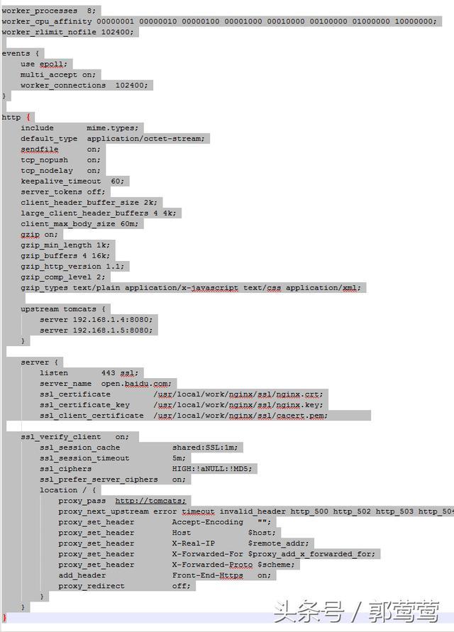 nginx配置反向代理商