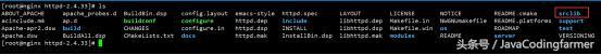 6、Nginx+Apache环境配置――Apache安装配置