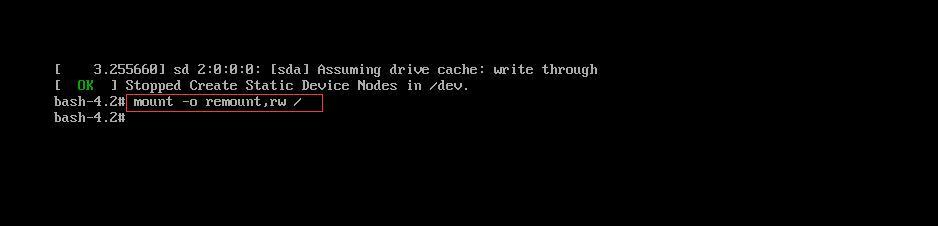 CentOS 7 不记得root密码修改大法