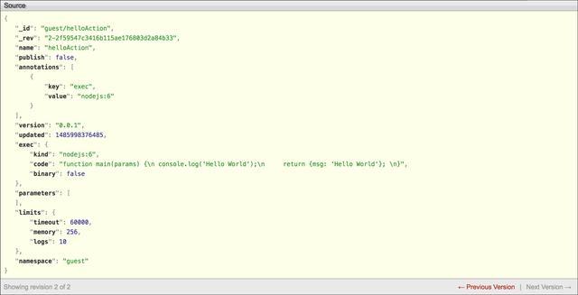 Apache OpenWhisk架构概述