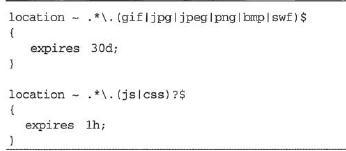 7、Nginx的浏览器本地缓存设置