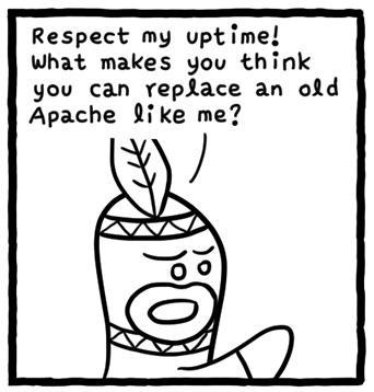 Apache 老矣,尚可以饭否?