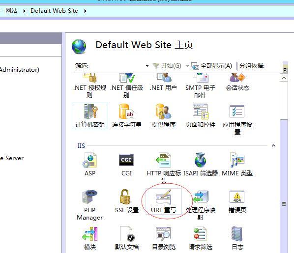 服务器ssl证书的Windows IIS7/8安装及HTTPS自动跳转