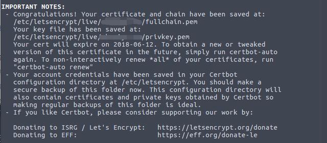 申请Let's Encrypt通配符HTTPS证书