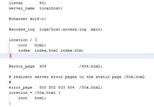 nginx常使用配置总结