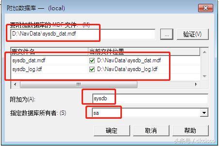 SQL数据库附加与复原的区别