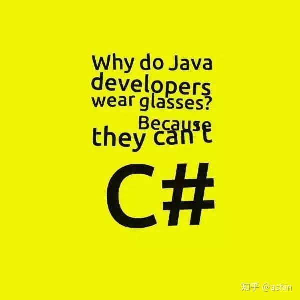 程序员进来解释一下:为什么Java开发人员都戴眼镜?