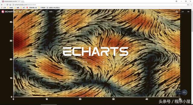 ECharts,一个JS实现的开源库,提供丰富的可视化图表,理解下