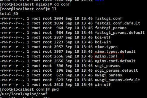 java:(负载均衡)nginx的应使用配置