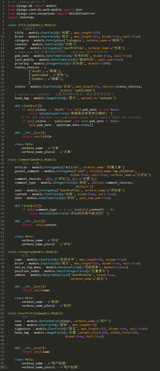 小老弟自学Python一个月,就开发了一个可上线的BBS论坛,真牛逼