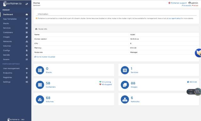 docker swarm集群搭建及用Portainer管理用Docker Swarm环境