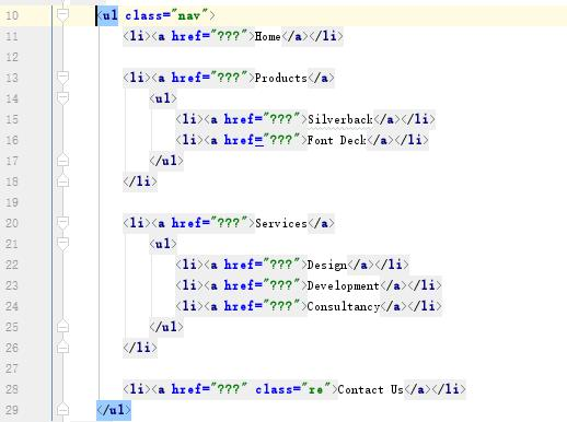 下拉菜单之纯CSS实现方法(CSS小白第五期)