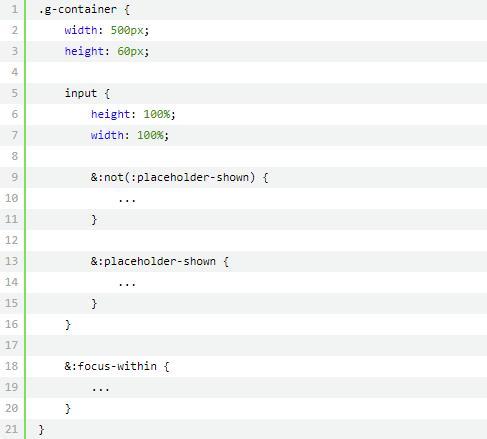CSS学习 神奇的选择器 :focus-within