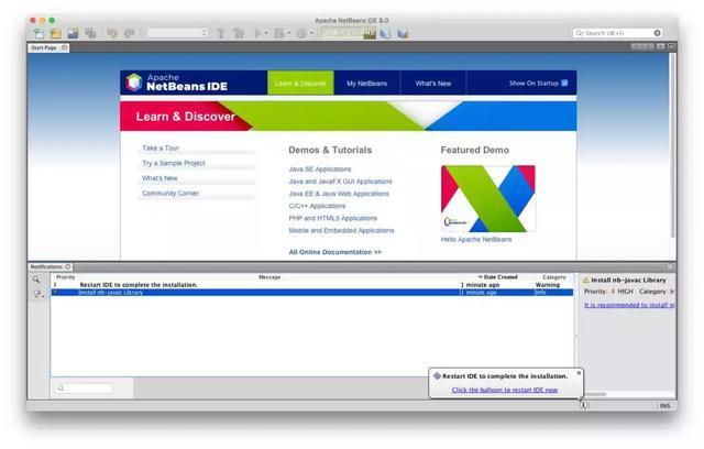 在 NetBeans 9 中�⑹褂� Java EE/Jakarta EE 支持!