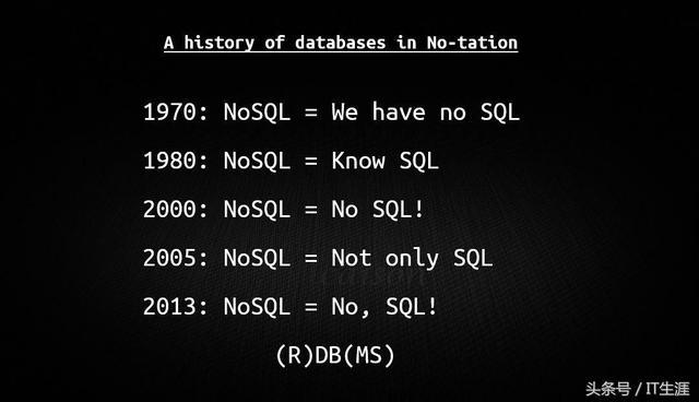 NoSQL还是SQL?这一篇讲清楚