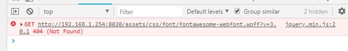 插件入图标库,字体报错的起因