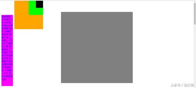 HTML中常用的布局元素及布局方式1