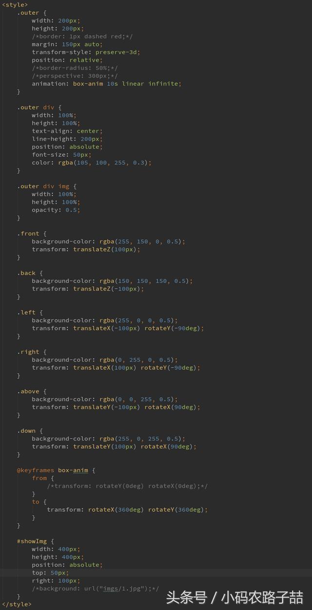 CSS 正方�w