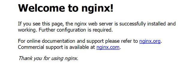 Nginx Linux环境下安装及负载均衡配置