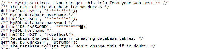 WordPress 站点数据手动备份