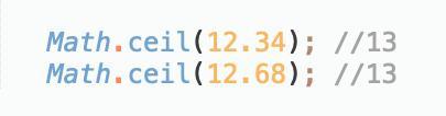 JavaScript中的四舍五入