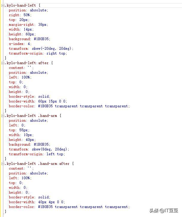 用CSS和HTML而不使用图片和JavaScript制作的星球大战动画及示例