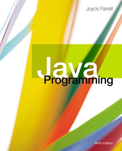 Java Programming 9th Edition - 2019 java程序�O�第9版 下�d