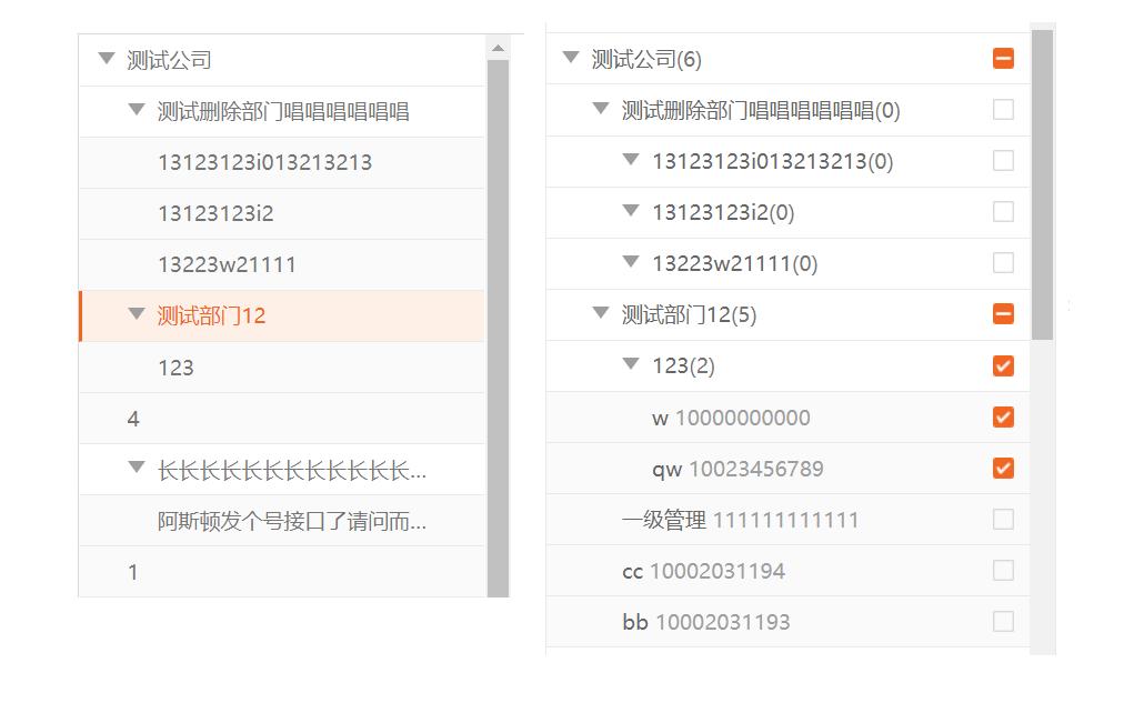 基于Vue2.0树形组件的实现